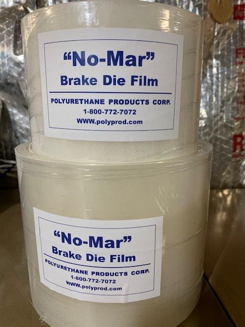 Rolls of brake die film.